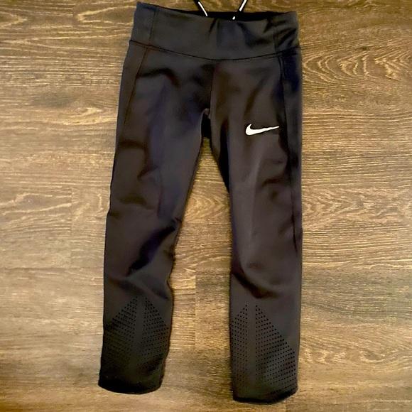 Nike Dry-Fit Running Cropped Leggins